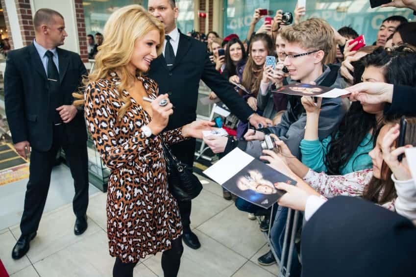 Paris Hilton Suit
