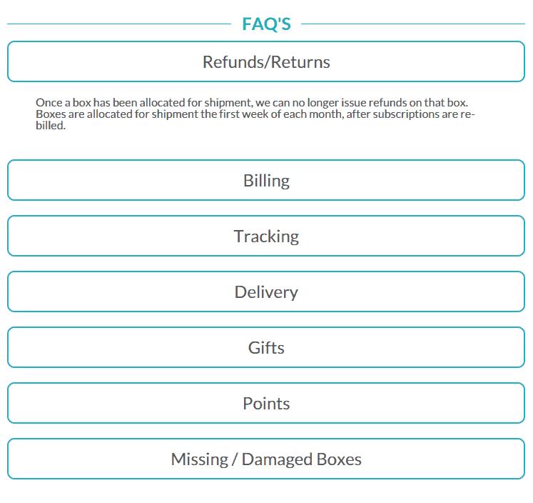 Conscious Box FAQ